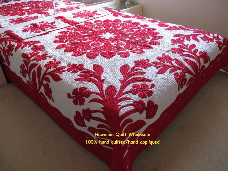 Hibiscus-Anthurium-RE <br> 2 pillow shams included<br><font color=red>Super Fine Materials</font>
