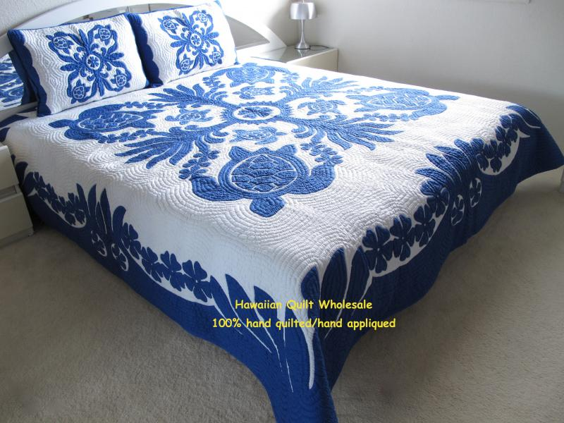 Sea Turtles-Ilima-B<br>2 pillow shams included<br><font color=red>Super Fine Materials</font>
