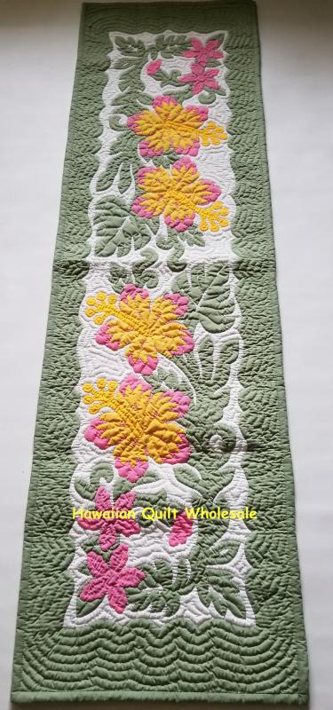 "Hibiscus Table Runner CGPY (70""x20"")"