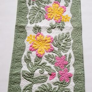 "Hibiscus Table Runner CGMU (52""x20"")"