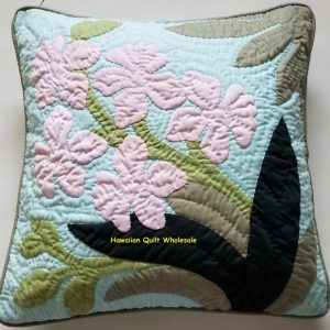 "Cattleya Pillow Cover MU (18"" x 18"")"