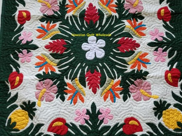 Tropical Flowers Wall Hanging BGMC
