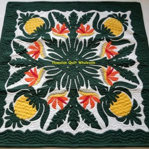 Pineapple Birds Of Paradise Wall Hanging BGMU
