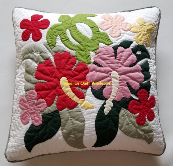 Hibiscus Sea Turtle Plumeria Pillow Covers MU