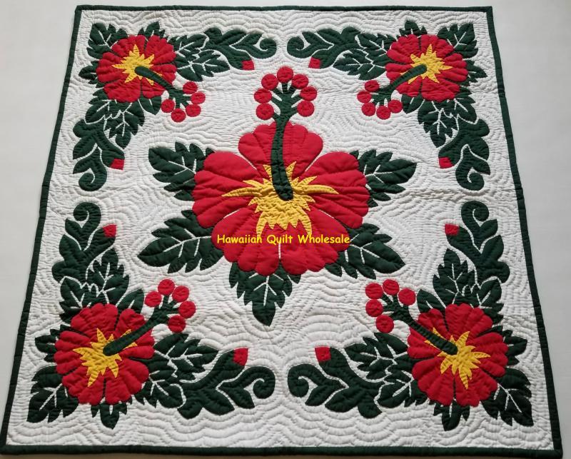 Hawaiian quilt queen hawaiian quilt king pink and white quilt