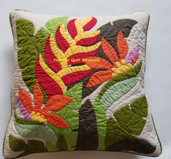 Heliconia Birds of Paradise Pillow Covers MU