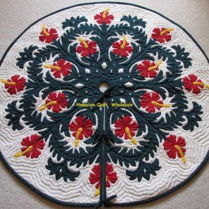 Hibiscus Tree Skirt BGR42