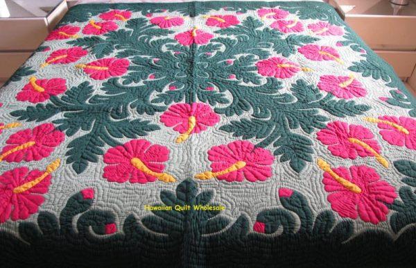 Hibiscus Bedspread BGFCG