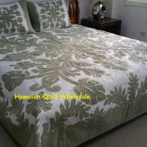 Hibiscus Fern Bedspread CG