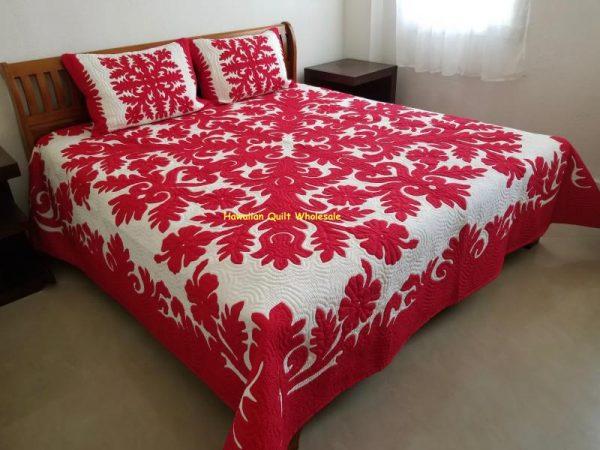 Hibiscus Bedspread RE