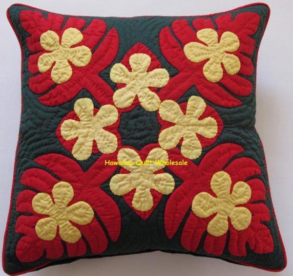 Monstera Plumeria Pillow Covers RYEDG