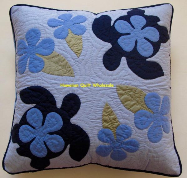 Sea Turtles Plumeria Pillow Covers MLB