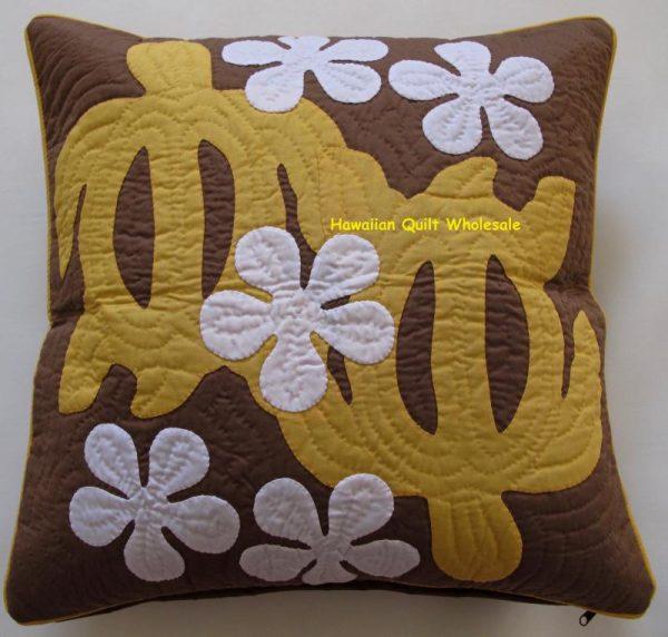 Sea Turtles Plumeria Pillow Covers YEB