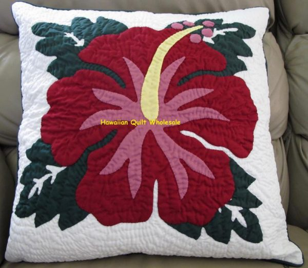Hibiscus Pillow Covers MA
