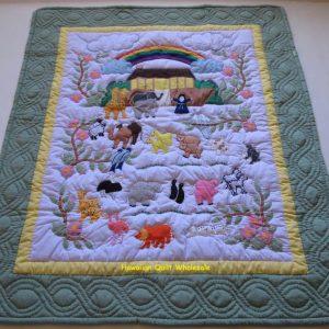 Noah's Ark Baby Blanket CG
