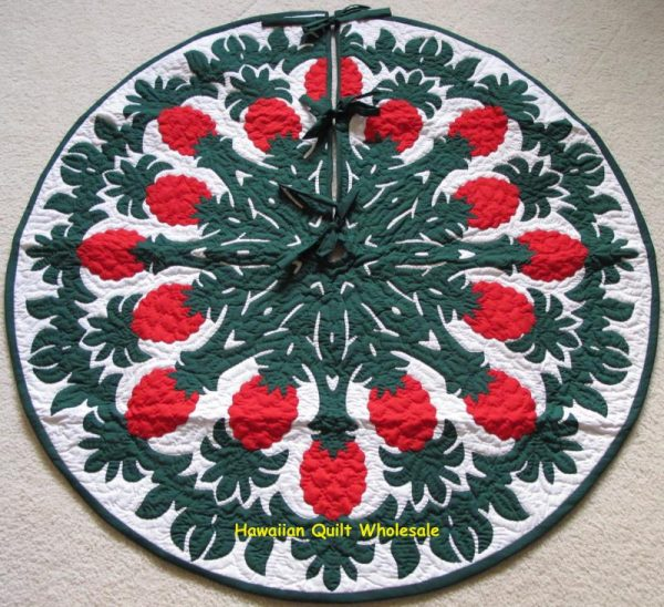 Pineapple Tree Skirt BGRE42