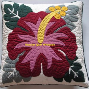 Hibiscus Pillow Covers BGMA