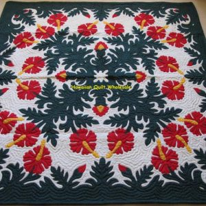 Hibiscus Wall Hanging BGRED