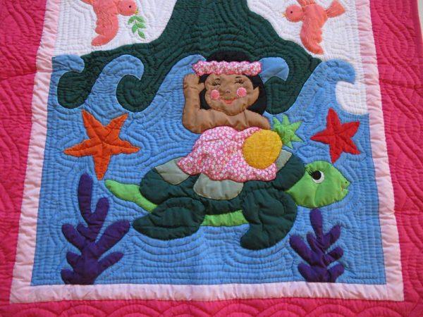 Baby Girl Baby Blanket FP