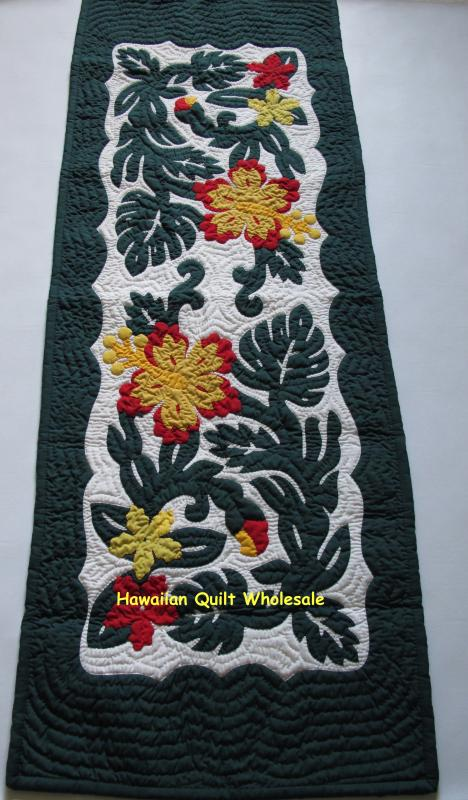 "Hibiscus Table Runner BGREYE (52""x20"")"