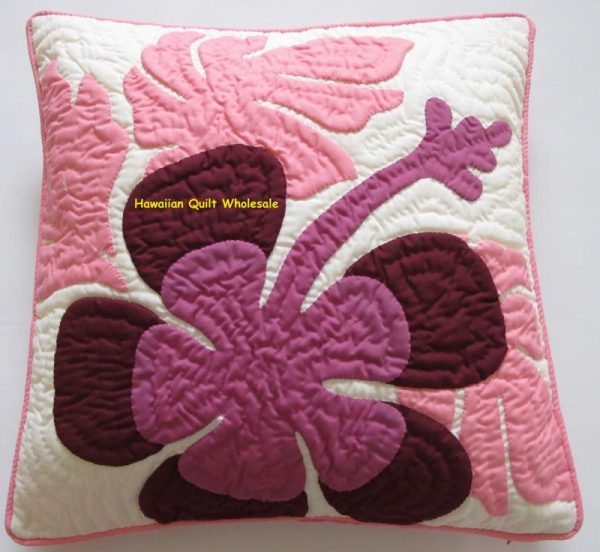 "Hibiscus Pillow Covers MDRP16 (16"" x 16"")"