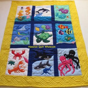 Undersea Friends Baby Blanket Y
