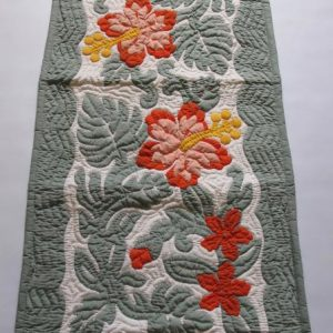 "Hibiscus Table Runner CGP (52"" x 20"")"