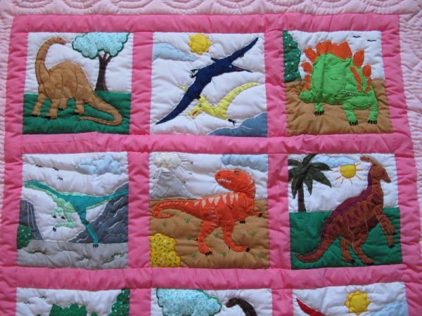 Dinosaurs World Baby Blanket P