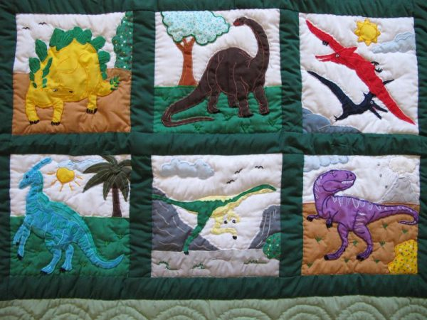 Dinosaurs Baby Blanket CGM