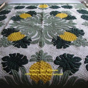 Monstera Pineapple Bedspread BGYO