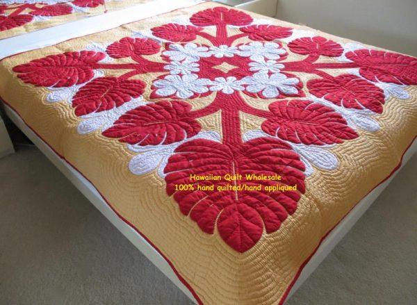 Monstera Tiare Bedspread RWY