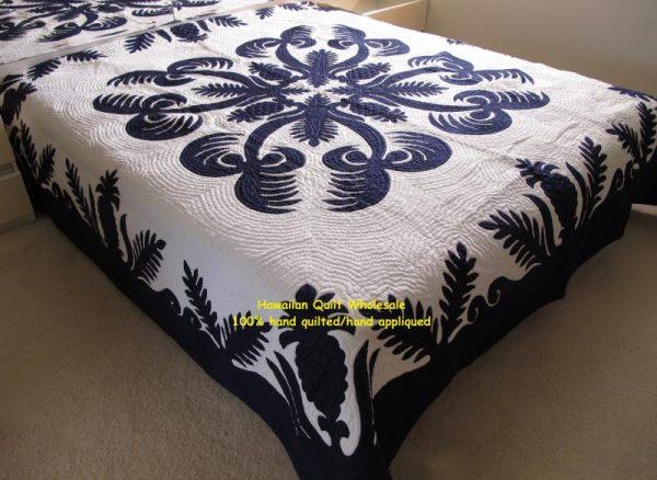 Pineapple Fern Coconut Bedspread DNB