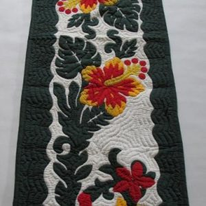 "Hibiscus Table Runner BGREYE (70""x20"")"