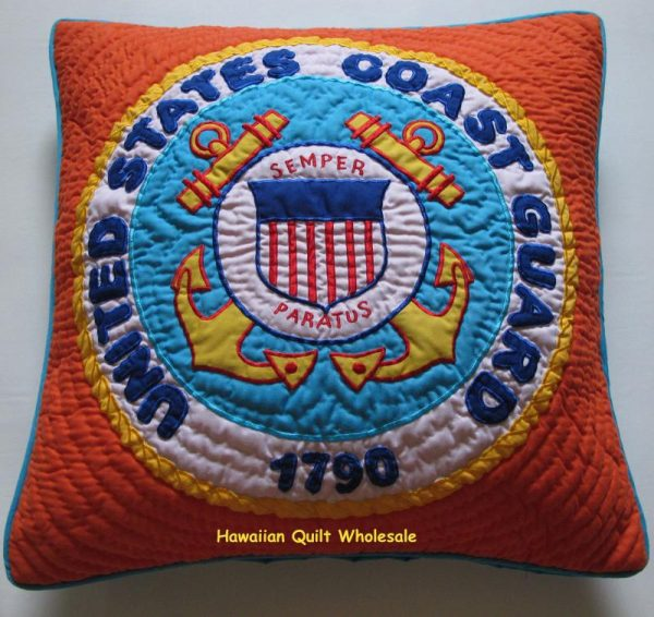 Coast Guard Pillow Cover