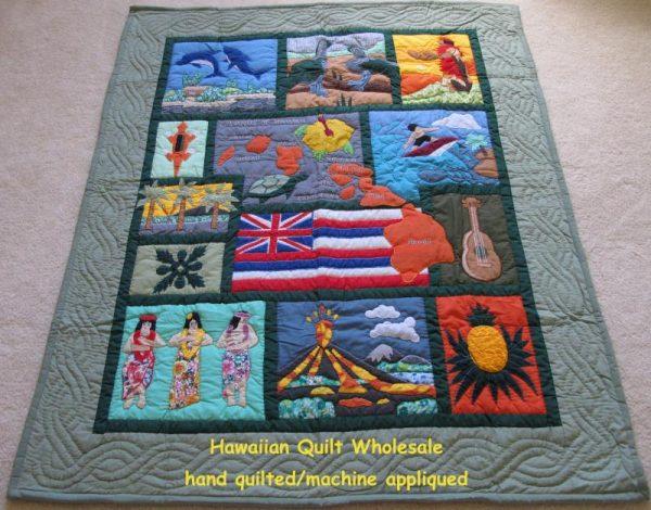 My Island Hawaiian Flag Baby Blanket CG