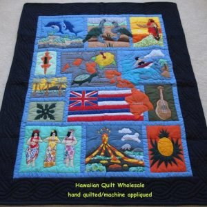 My Island Hawaiian Flag Baby Blanket NB