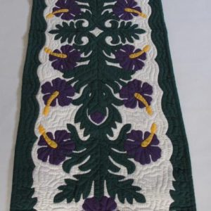 "Hibiscus Table Runner PU (70"" x 20"")"