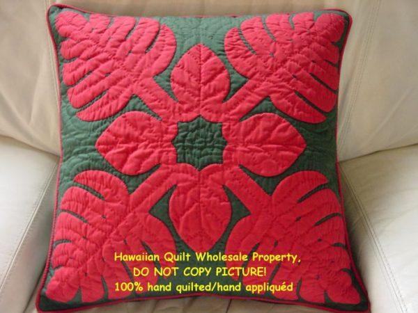 Monstera Pillow Cover REBG