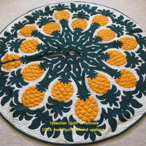 Pineapple Tree Skirt BGY60