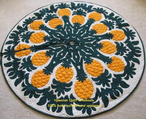 Pineapple Tree Skirt BGY60
