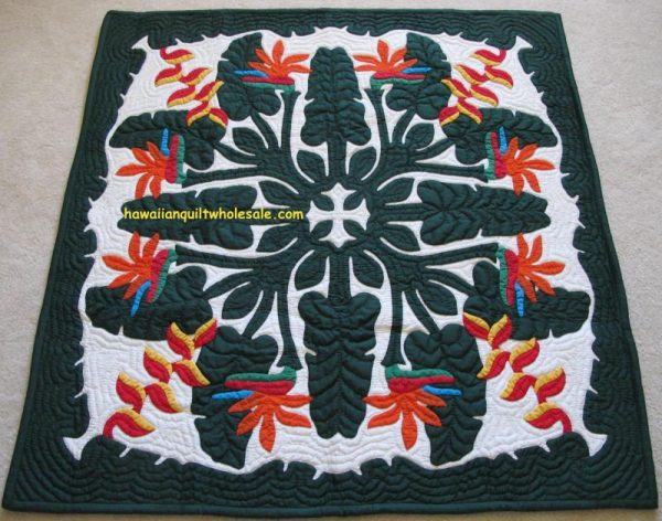 Tropical Flowers Wall Hanging MO